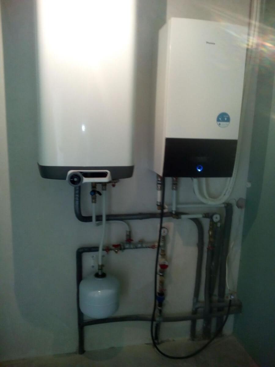 Boilerių montažas ir aprišimas