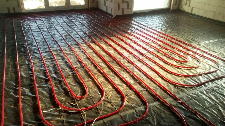 Šildymo ir šildomų grindų įrengimas